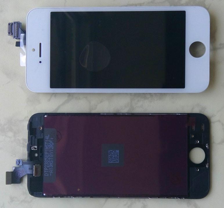 Дисплей модуль для iPhone 5 в зборі з тачскріном білий, копія Tianma