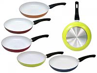 Сковорода с керамическим покрытием, диаметр 26 см