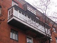 Балконы разварка, монтаж, остекление