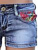 Короткие летние шорты из джинса (40р), фото 3