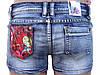 Короткие летние шорты из джинса 40-46, фото 5