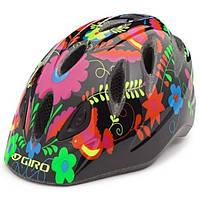 Велошлем детский Giro RASCAL чёрный Pajaro, M/L (50-54) (GT)