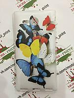 Чехол для Sony Xperia SP C5303 (Яркие бабочки)