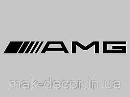 Виниловая наклейка на авто - AMG