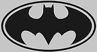 Вінілова наклейка на авто - Batman 13х20 см