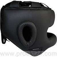 Боксерский шлем тренировочный RDX с бампером-M