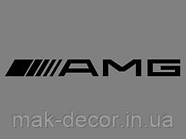 Виниловая наклейка  AMG