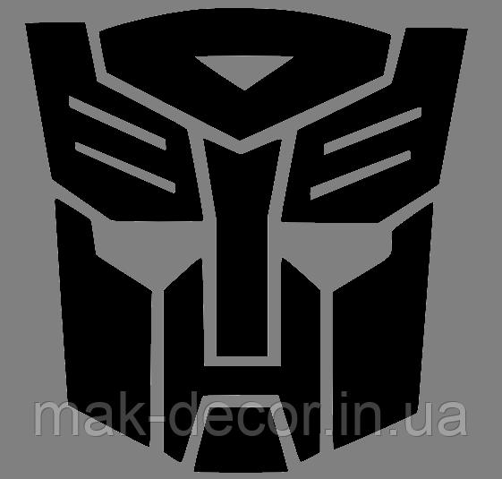 Вінілова наклейка Transformers