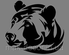 Виниловая наклейка Медведь
