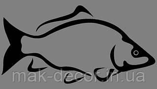 Виниловая наклейка Рыбка 2