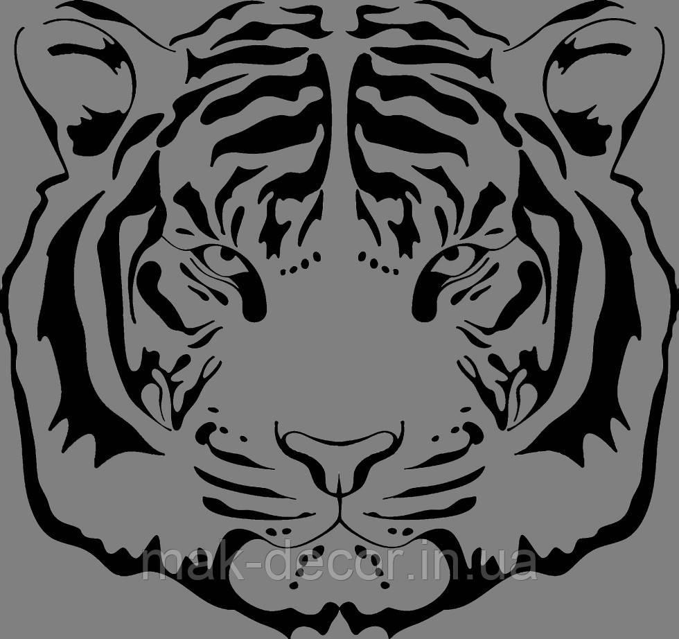 Вінілова наклейка Тигр