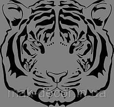 Виниловая наклейка Тигр