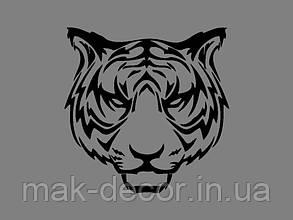 Виниловая наклейка Тигр 2