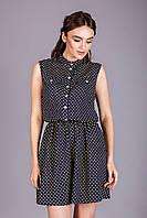 Комфортное летнее платье из натуральной и тонкой хлопковой ткани (штапель)