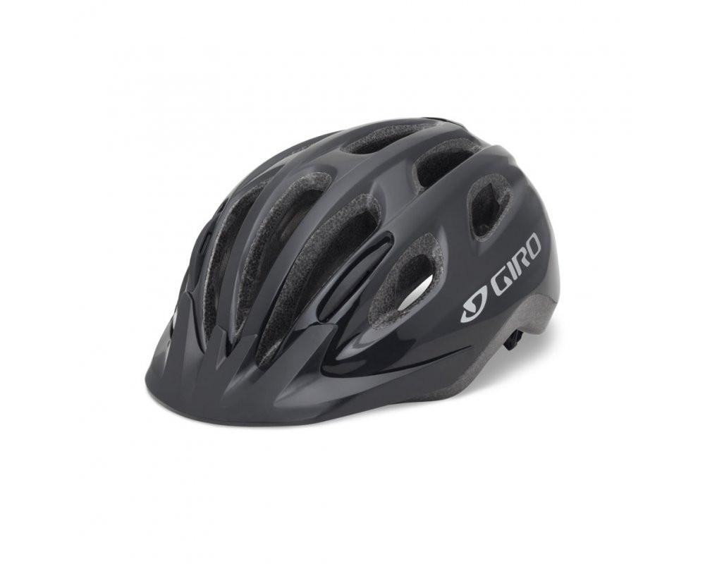 Велошлем подростковый Giro Flurry II чёрный, Uni (50-57) (GT)
