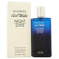 Davidoff Cool Water Night Dive edt 125ml. m оригинал Тестер