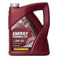 Моторное масло MANNOL Energy Formula PD 5W-40 60л