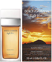 Dolce & Gabbana Light Blue Sunset in Salina  25 ml. w edt  оригинал