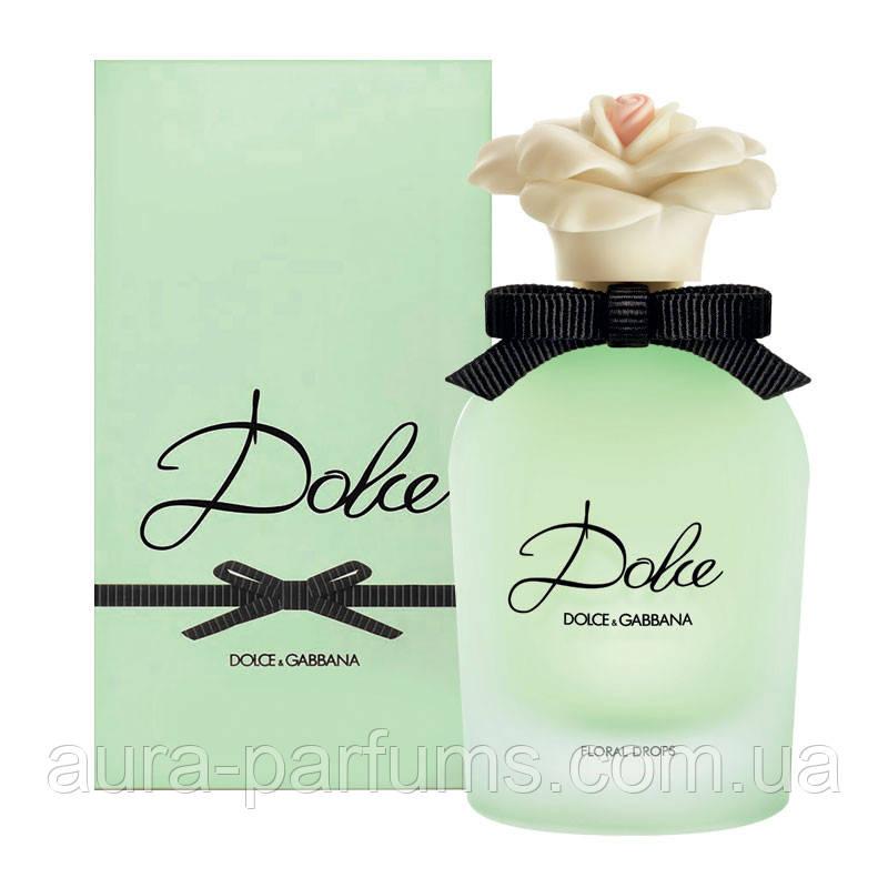 Dolce & Gabbana Floral Drops 50 ml. w edt  оригинал