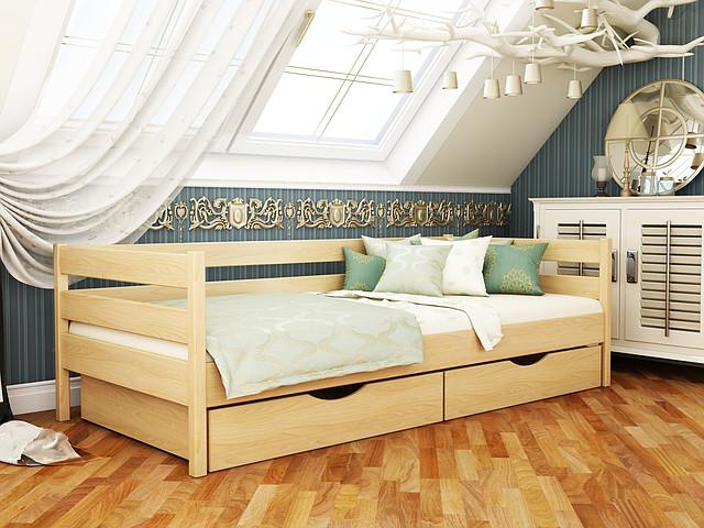 Кровать Нота бук натуральный-102 тм Эстелла.