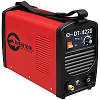 Сварочный инвертор для аргоно-дуговой сварки INTERTOOL DT-4220
