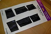 Невидимки на планшете черные 150*45мм и 50*65мм (200шт)