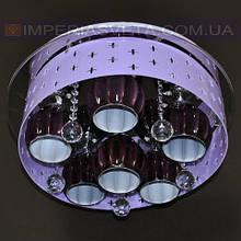 Потолочная люстра LED IMPERIA шестиламповая с пультом дистанционного управления и диодной подсветкой LUX-504436