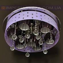 Потолочная люстра LED IMPERIA семиламповая с пультом дистанционного управления и диодной подсветкой LUX-504441