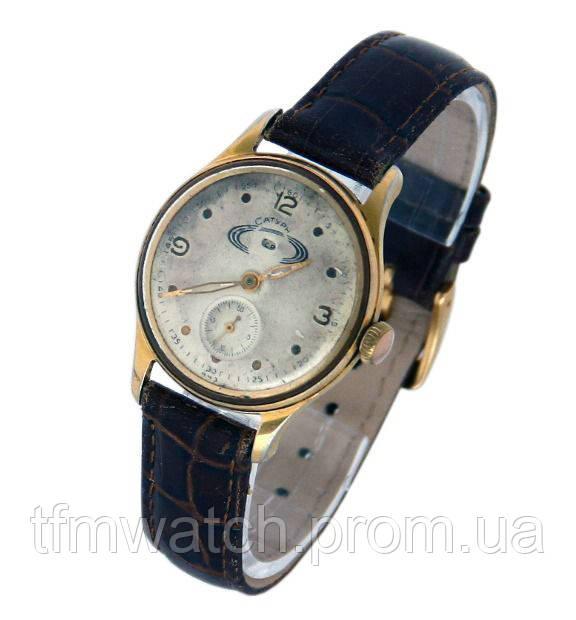 Механические часы СССР Сатурн