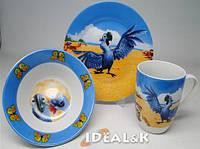 """Детский набор посуды  """"Рио""""  (с новой чашкой) Идеал Киев"""