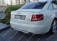 Спойлер Ауди А6 С6 (спойлер на крышку багажника Audi A6 C6)