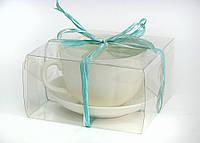 "Подарунок ""Чайна пара""PVC (Кухоль 380мл+блюдце)"