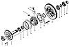 Муфта обгонная  (узел в сборе ) ZL40A.30.5-35A assy, фото 2