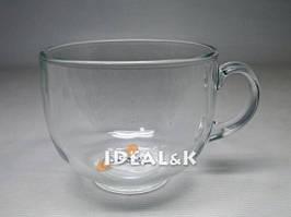 Кружка - чай  500 мл.  ДЖАМБО прозрачная