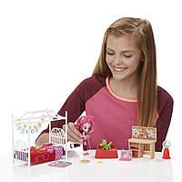 Набор для спальни пижамная вечеринка My Little Pony Equestria Girls Minis Pinkie Pie Slumber Party Bedroom