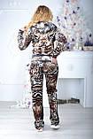 Брендовий турецький костюм Eze білий колір розм 52,54,56, фото 6