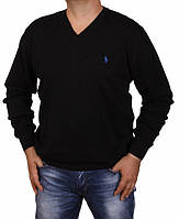 Свитер мужской из 100 % хлопка Ralph Lauren-100028 черный