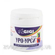 Gigi (Гиги) Uro-Ursi (Уро-урси) для профилактики мочекаменной болезни и циститов собак и кошек 14 капс.