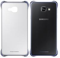 Чехол для Samsung Galaxy A3 (A310 2016) - Samsung Clear Cover, черный (EF-QA310CBEGRU)
