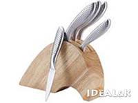 Набор ножей 6пр Bergner BG 4203-MM, Каучуковая колода