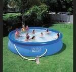 Надувной бассейн Intex Easy Set Pool intex 56412 (457х91 см. ) + насос киев