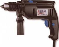 Дрель FERM 650 ударная, сам.заж.патрон