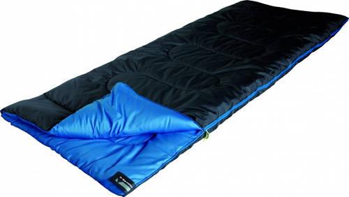 Прочный спальный мешок High Peak Ceduna / +3°C (Right) Black/blue 922763 черный