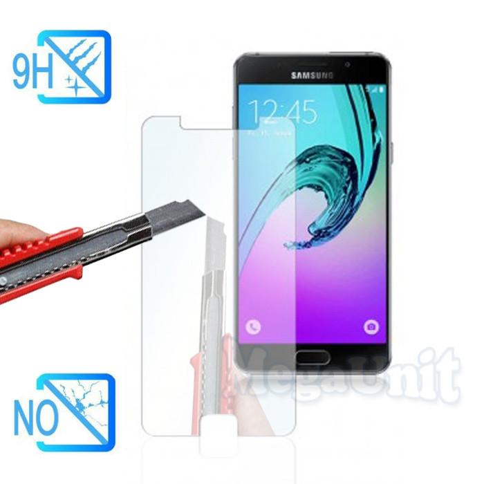 Защитное стекло для экрана Samsung Galaxy A5-2016 (a510) твердость 9H, 2.5D (tempered glass)