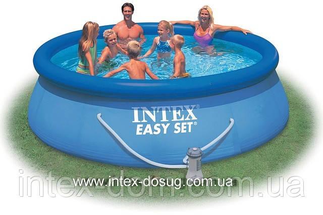 Надувний басейн Easy Set Pool Intex 56932 (366х91 див. ) + насос київ