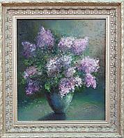 «Сиреневая весна» картина маслом