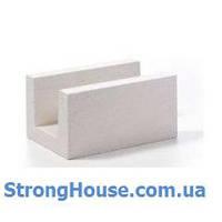 Стеновой блок U-блок Aeroc (Аэрок) 400х250х500
