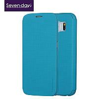 Чехол для Samsung Galaxy S6 - Seven-days Breathing series, бирюзовый