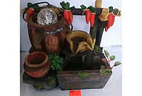 Фонтан декоративный интерьерный Морковки