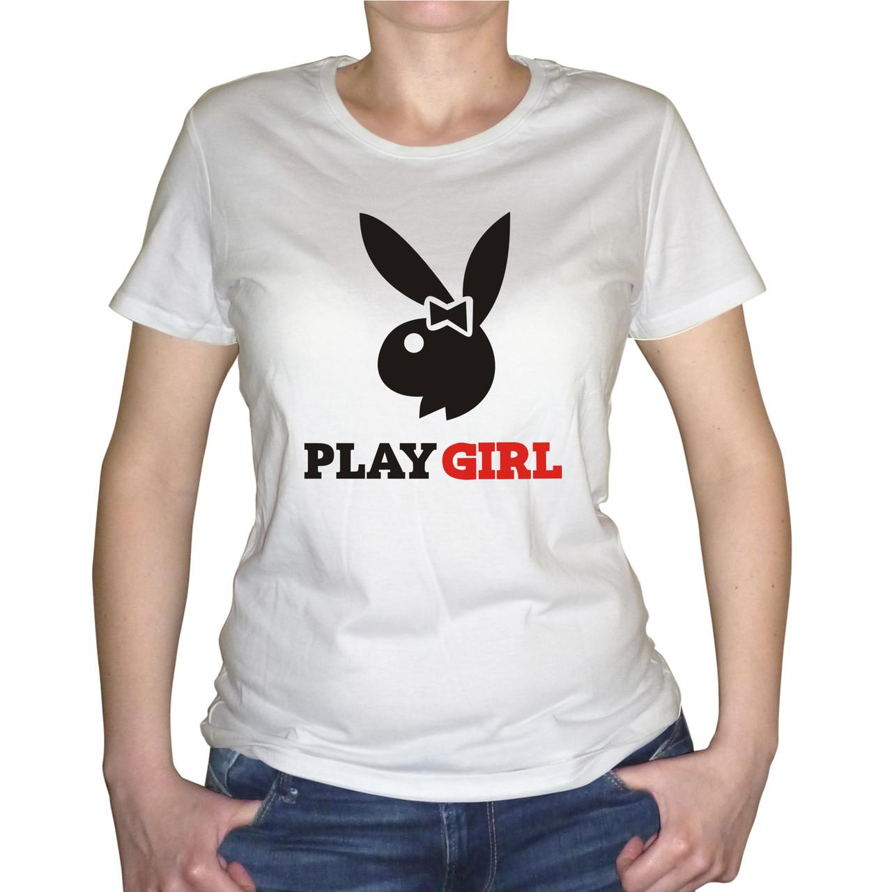 """Женская футболка """"Play Girl"""""""